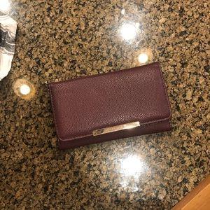 Handbags - purple hand bag